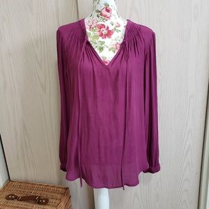Berry peasant top. Size 1X